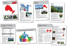 Canadian Provinces & Territories Language Cards
