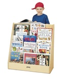 "Pick a Book Stand, Flushback, 1 sided, 30"" Wide"