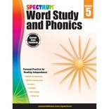 Spectrum® Word Study and Phonics, Grade 5