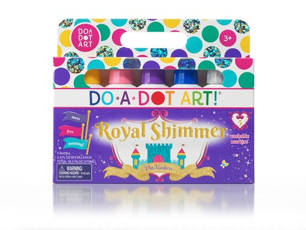 Do-A-Dot Art Markers, Shimmer Washable, 5 Pack