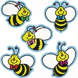 Bees Dazzle™ Stickers Super Pack