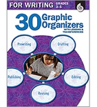 30 Graphic Organizers for Writing Grades 3-5 (Enhanced eBook)