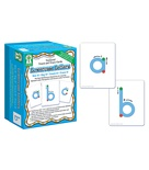 Textured Touch and Trace Cards: Lowercase Letters