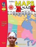 Outline Maps of Canada, Grades 4-8
