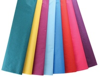 Non-Bleeding Tissue Paper Assortment, Bright Colors, 24 sheets