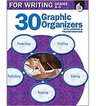 30 Graphic Organizers for Writing Grades K-3 (Enhanced eBook)