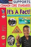 It's A Fact! Non-Fiction Reading Comprehension (Grades 1-3)