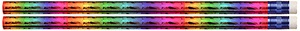 Rainbow Prism Pencil, Pack of 12