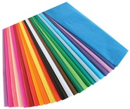 "Bleeding Tissue Paper Assortment, 50 sheets, 12"" x 18"""
