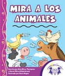 Mira A Los Animales Read Along Book and MP3 Bundle