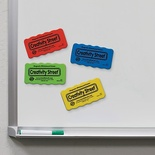 Magnetic Erasers, Pack of 4