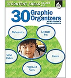 30 Graphic Organizers for the Content Areas Grades K-3 (Enhanced eBook)
