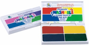Washable 4-in-1 Stamp Pad, Electric