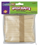 Craft Sticks, Natural, 150 pieces