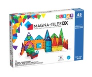Magna-Tiles® Clear Colors, 48-piece set