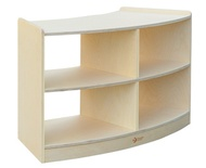 2-Layer Hollow Curved Shelves