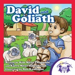 David and Goliath Read Along Book and MP3 Bundle