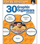 30 Graphic Organizers for Reading Grades 5-8 (Enhanced eBook)