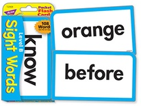 Sight Words-Level B Pocket Flash Cards
