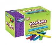 Craft Sticks, Bright Hues, 1,000 pieces