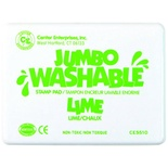 Jumbo Washable Pad, Lime Green