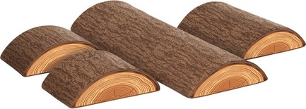 SoftZone® Tree Log 4-Piece Set  *New Item, Available Early June