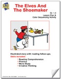 The Elves and the Shoemaker Lesson Plan and Color Sequencing Activity