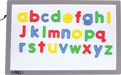 Jumbo See-Thru Lowercase Alphabet Set