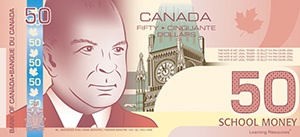 Canadian Play Bills, $50 Bills, Pack of 50