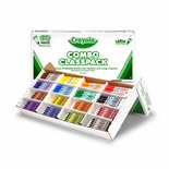Crayola® Large Size Crayons & Markers Classpack®