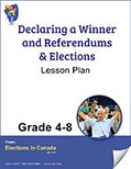 Declaring A Winner, Referendums & Elections Grades 4 to 8 (e-lesson plan)
