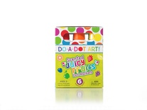Do-A-Dot Art Markers, Fruit Scented, 6 colors