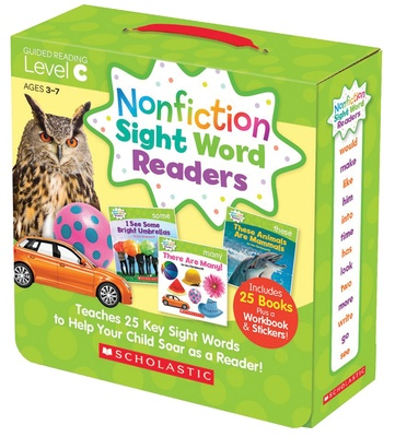 Nonfiction Sight Word Readers Parent Pack, Level C