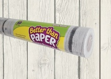 Better Than Paper® Bulletin Board Roll, White Wood