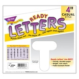 "4"" Uppercase Casual Solids Ready Letters®, White"