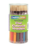Flat Colossal Brushes, Set of 30