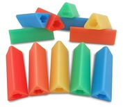 Triangle Pencil Grips, Bag of 36