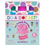 Do-A-Dot Art Markers, Ice Cream Dreams, 6 colors