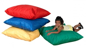 "27"" Cozy Primary Pillows, Set of all 4"