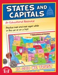 States & Capitals Christian Educational Workbook and MP3 Bundle
