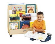 1-Sided Mobile Pick-a-Book Stand