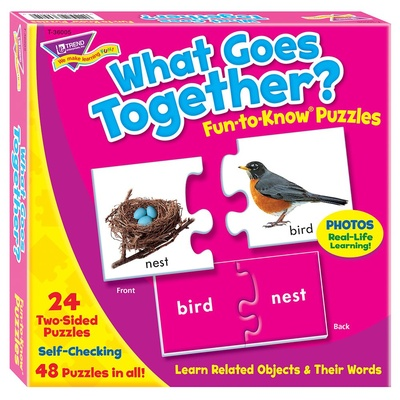 Fun-to-Know® Puzzles, What Goes Together