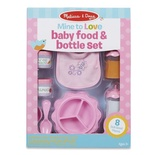 Mine to Love Doll Food & Bottle Set