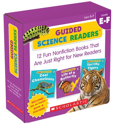 Guided Science Readers Parent Pack, Levels E-F