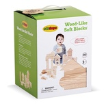 Wood-Like™ Soft Blocks, Set of 80