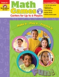 Math Games: Centers for Up to Six Players Level A (Enhanced eBook)