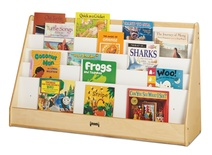 Flushback Extra-Wide Pick-a-Book Stand