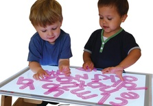 SiliShapes® Trace Alphabet