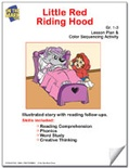 Little Red Riding Hood Lesson Plan and Color Sequencing Activity