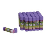 Economy Glue Stick, Purple, .70 oz. Box of 30